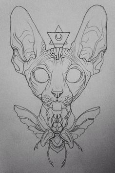 Keeper Of Sight.  Pencil drawing 2014