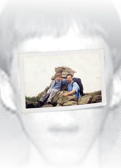 """Adam and Peter Lanza on a hike when Adam was about ten. As a child, Peter says, Adam was """"just a normal little weird kid."""""""