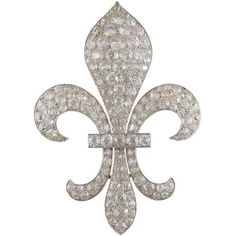 Victorian Diamond Silver Gold Fleur-de-Lis Brooch ❤ liked on Polyvore featuring jewelry, brooches, silver brooch, antique diamond brooch, victorian antique jewelry, gold jewellery and gold brooch