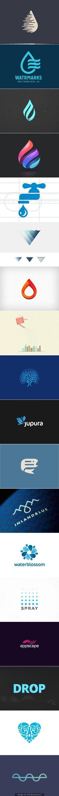 Water logos - created via http://pinthemall.net