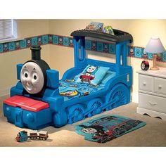 Thomas the train toddler bed awsome