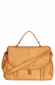 Topshop 'Large' Zip Satchel available at