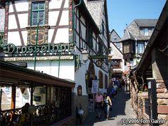 Rudesheim Drosselgasse Germany