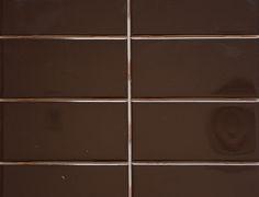 Classic Included Backsplash Tiles  - C&D Espresso Polished
