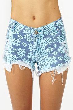 Venice Cutoff Shorts