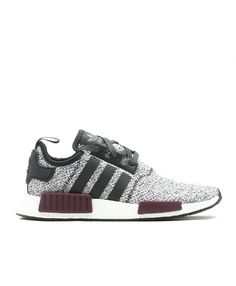 low priced c4606 72788 Chaussure Adidas NMD R1 J Champs GS Laine Exclusive Gris Bourgogne Marron  BA7841 Adidas Nmd R1