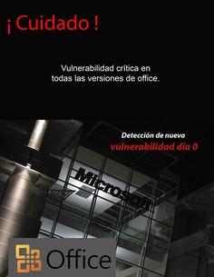 McAfee alertó un fallo de #seguridad grave que afecta la versión de Microsoft Word y cuya explotación puede permitir al atacante ejecutar cualquier clase de malware en el equipo de la víctima.