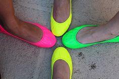 Dallas Weekend Recap: Neon @Tieks by Gavrieli on bloggers at the Tieks Neon Happy Hour