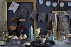 holiday party centerpieces - Google Search