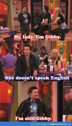 Gibby was so awesome!