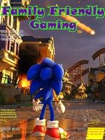 Front cover to Family Friendly Gaming #118