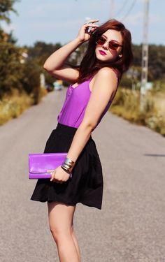Pop in purple