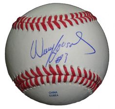 Cincinnati Reds Willy Taveras signed Rawlings ROLB leather baseball w/ proof photo.  Proof photo of Willy signing will be included with your purchase along with a COA issued from Southwestconnection-Memorabilia, guaranteeing the item to pass authentication services from PSA/DNA or JSA. Free USPS shipping. www.AutographedwithProof.com is your one stop for autographed collectibles from Cincinnati sports teams. Check back with us often, as we are always obtaining new items.