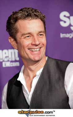 James Marsters, Everyone probably remembers him as Spike from Buffy and Angel.