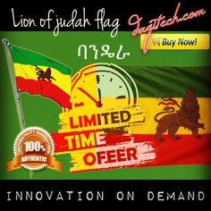 LION OF JUDAH FLAG