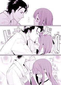 Steins;Gate, Makise Kurisu & Okabe Rintarou