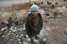 Zehntausende Menschen sind aus Aleppo geflüchtet. Einer von ihnen ist dieser...