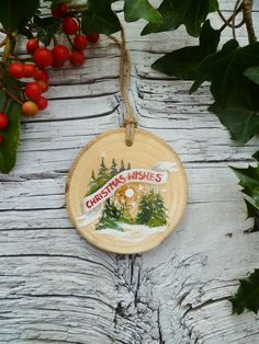 Vintage Inspired Christmas Ornament Christmas by AliceCEades, £17.00