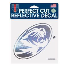 "Missouri Tigers WinCraft 6"" x 6"" Reflective Perfect Cut Decal - $9.99"