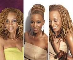 Locs in different hairstyles | Black Women Natural Hairstyles