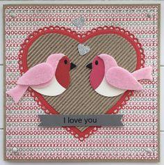 LindaCrea: Valentijn - Love Birds