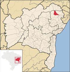 Localização de Canudos