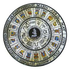 Calendario Maya Meses Signos Zodicao Solar Astrologia Comienzo y Fin