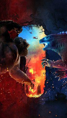 All Godzilla Monsters, Godzilla Comics, King Kong Vs Godzilla, Godzilla Wallpaper, Fox Kids, Skull Island, Movie Wallpapers, Jurassic World, Horror Movies