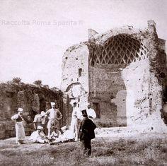 Roma Sparita - Tempio di Venere e Roma, 1860