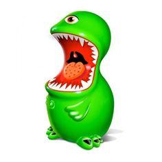 ¡Acercate y te comerá....el juguete divertido, desenfadado, vibrante y estimulante! El vibrador con tres velocidades que te sorprenderá.