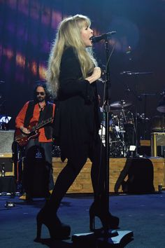 Stevie Nicks onstage at MusiCares on February 10, 2017.