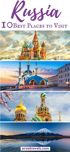 Find out about the best 10 best places to see in Russia - where to visit in Russia apart from Moscow and St. Petersburg.
