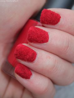 Recently, I have had a passion for do-it-yourself nail art techniques. I think most other girls are obsessed, too. Nail Art Diy, Diy Nails, Velvet Nails, Nail Art Techniques, You Nailed It, Red Velvet, Nail Polish, Candy, How To Make