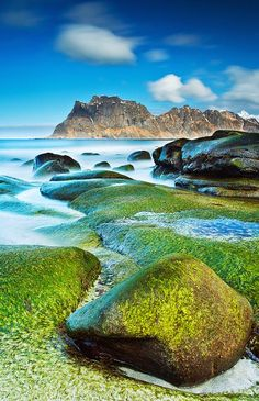 Uttakleiv Beach, Lofoten Islands,Norway