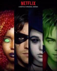 Teen Titans Series, Teen Titans Fanart, Teen Titans Go, Dc Universe, Marvel Cinematic Universe, Deathstroke, Jason Todd, Troy, Raven Beast Boy