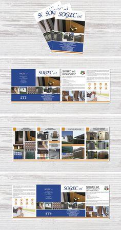 Impostazione grafica e stampa di una brochure A5 a 4 ante su carta patinata da 250 gr Brochure, Desktop Screenshot