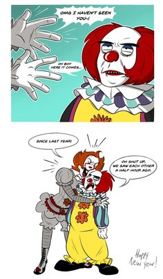 Scary Movie Characters, Scary Movies, Horror Movies, It Miniseries, New Year Jokes, Evil Demons, Im A Loser, Pennywise The Dancing Clown, Funny Horror