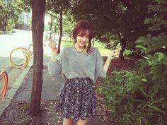 ha-roro:  sweater | skirt