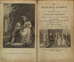 The science of love or the whole art of courtship [frontispiece and title page]