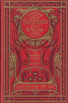 Tour du Monde 80 Tours (Around the World in 80 Days) by Jules Verne 1873