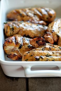 Cilantro Lime Chicken Recipe | ©addapinch.com