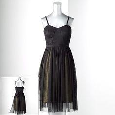 Simply Vera Vera Wang Convertible Mesh Dress