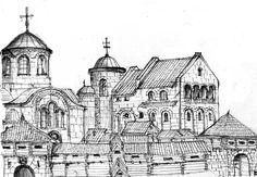 residence of Ruthenian rulers of Przemysl Duchy in XI - XIV centuries.