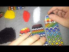 Beading: Designing Repeating Patterns with Tubular Peyote - YouTube