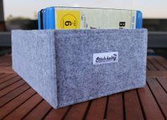Stich-haltig Blu-Ray Aufbewahrung Box aus Filz Tasche Mappe Case Sammler Blueray