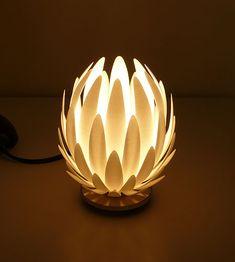 Lily lamp by JANNE KYTTANEN #3dPrintedLightning