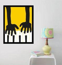 poster pianista - 30x40 cm