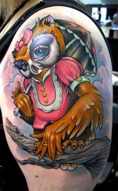 owl tattoo - Google Search