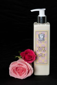 The combination of exotic aromas include Frangipani, Immortelle, Rose, Orange and Sandalwood to leave an alluring scent on the skin. Packaging Design, Exotic, Skincare, Organic, Rose, Pink, Skincare Routine, Skins Uk, Skin Care