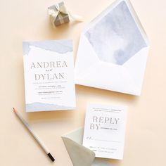 Concord Wedding Invitations | Smitten on Paper